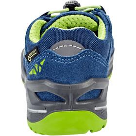 Lowa Robin GTX Chaussures à tige basse Enfant, blue/lime